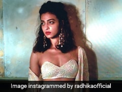 Radhika Apte Takes Us Back To The Time She Wore A Stunning Monochrome Sequin Set