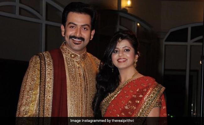 Prithviraj Sukumaran's Post For Wife Supriya Menon On Wedding Anniversary: 'This Woman Deserves A Medal'