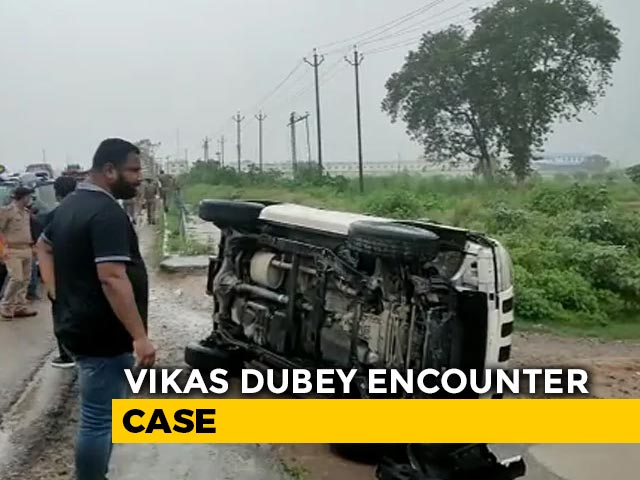 "Video : Vikas Dubey Encounter: Clean Chit To UP Police, ""No One Gave Evidence"""