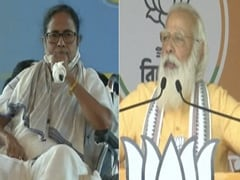 """""""Game On"""" vs """"Game Over"""" At Mamata Banerjee, PM Modi's Rallies In Bengal"""