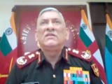 Video : China Capable Of Launching Cyber Attacks On India: General Bipin Rawat