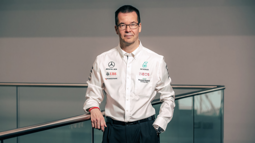 Mike Elliott will take over as the technical director at Mercedes in July