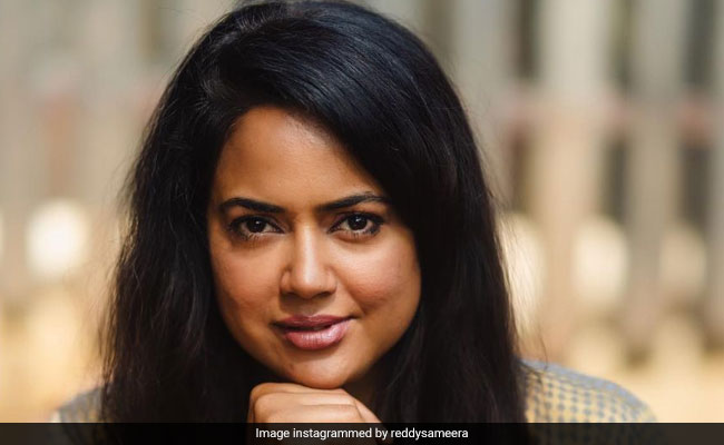 Actor Sameera Reddy And Kids, COVID-Positive, Are Trying To Keep Their 'Spirits Up'