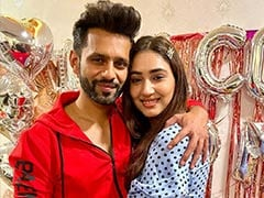 Rahul Vaidya Cannot Stop Gushing Over Girlfriend Disha Parmar Even While Commenting on Disha Patani's Post