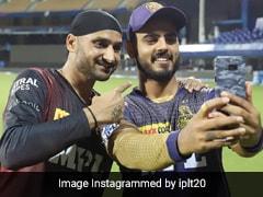 IPL 2021: Nitish Rana, Harbhajan Singh Rap To 'Brown Munde' After Victory Over SRH