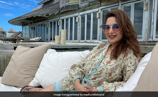 'Sunkissed' And Smiling, Madhuri Dixit Shares Another Maldives Pic