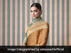 Deepika Padukone Radiates Grace And Beauty In Gorgeous Sabyasachi <i>Sarees</i>