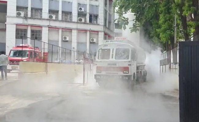 Nashik 11 Dead After Oxygen Leaks From Tanker Outside Maharashtra Hospital