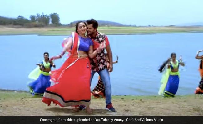 Khesari Lal Yadav  और Kajal Raghwani के रोमांटिक सॉन्ग का जबरदस्त धमाल, Video 3 करोड़ के पार