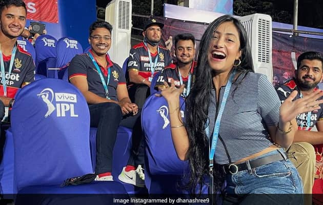 When Chahals Wife Dhanashree Lost Her Voice In SRH vs RCB Thriller
