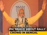 "Video : ""Elated To See A Large Crowd"": PM In Bengal Rally"