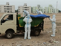 Garbage Van Ferries Covid Patients' Bodies To Chhattisgarh Crematorium
