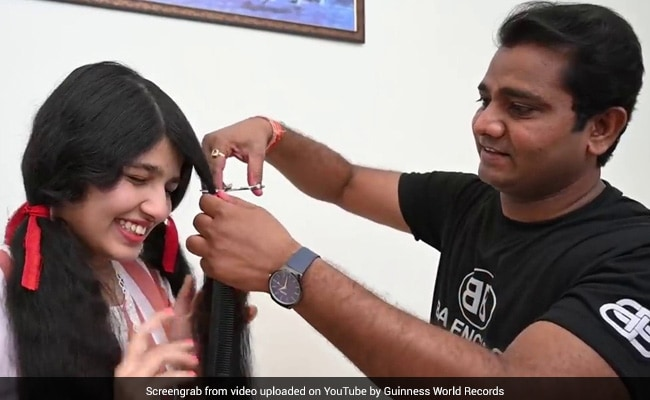 Watch: Guinness Record Holder From Gujarat Gets First Haircut In 12 Years