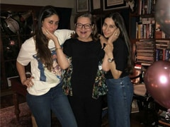"On Mom Babita's Birthday, Kareena Kapoor Makes ROFL Promise: ""Karisma And I Will Trouble You Forever"""