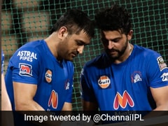 MS Dhoni, Suresh Raina Sweat It Out In The Nets As CSK Gear Up For IPL 2021. Watch