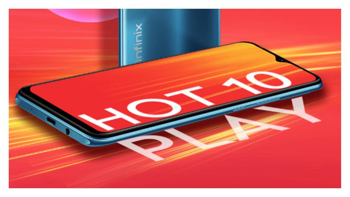 Infinix Hot 10 Play फोन 8,499 रुपये की कीमत में लॉन्च, 6,000mAh बैटरी से है लैस