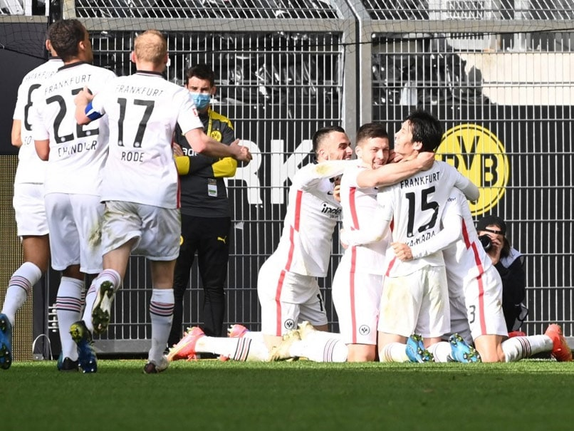 "Bundesliga: Borussia Dortmund Face ""Catastrophe"" After Shock Eintracht Frankfurt Defeat"