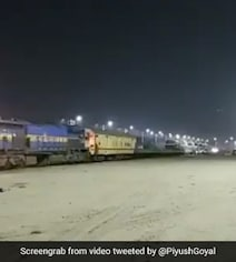 First 'Oxygen Express' Leaves Maharashtra For Vizag With 7 Empty Tankers