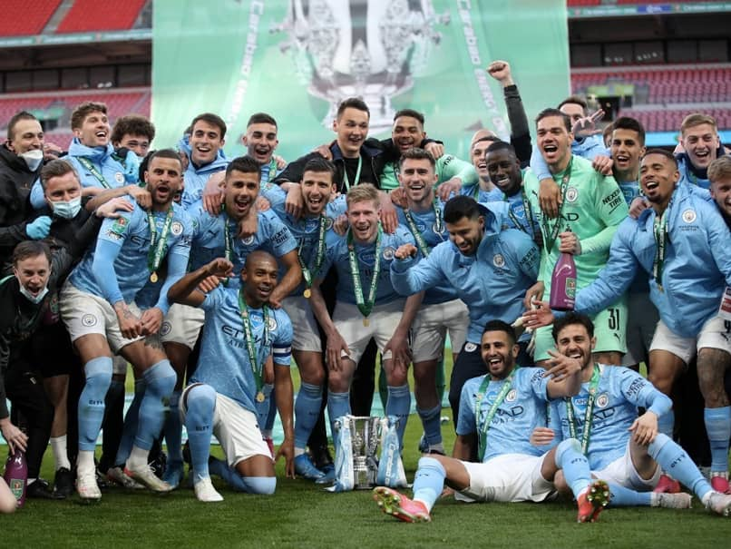League Cup: Manchester City Outclass Tottenham Hotspur To Retain Title In Front Of 8,000 Fans