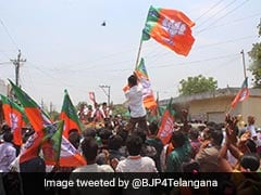 After High Court Rap, BJP's Mega Rally For Telangana Local Body Polls