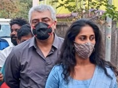 Tamil Star Ajith Trends After Taking Away Unmasked Fan's Phone At Polling Booth