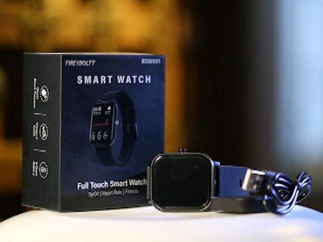 Video : Firebolt BSW 001 Budget Smartwatch Review