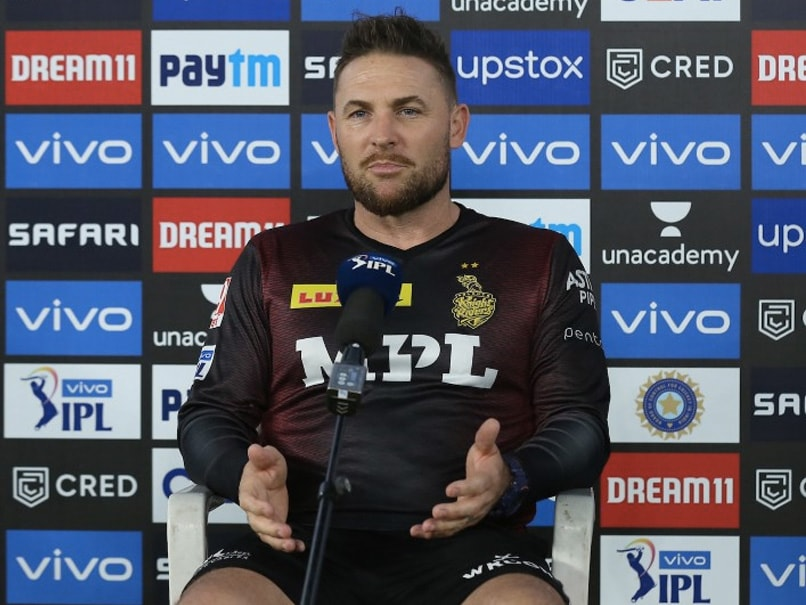 """IPL 2021: KKR Coach Brendon McCullum Says """"Have To Make Some Changes"""" After 7-Wicket Loss To Delhi Capitals"""