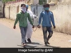 2 Arrested In Madhya Pradesh, Made To Walk After 1 Tests Covid Positive