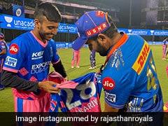 "IPL 2021: Chetan Sakariya Meets Rohit Sharma ""Like A Fan"", Gets Jersey Signed. See Pics"