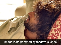 On Vijay Deverakonda's Messy Hair Pic, This Actress Dropped A Comment
