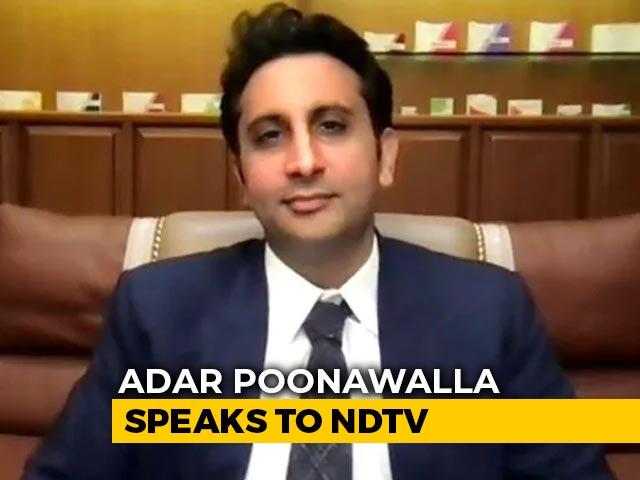 Video : Believe Rs. 3,000 Crore Will Reach, Didn't Wait, Borrowed: Adar Poonawalla