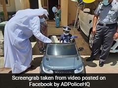 UAE Police Turn Santa, Fulfil 4-Year-Old's Wish To Own Electric Car
