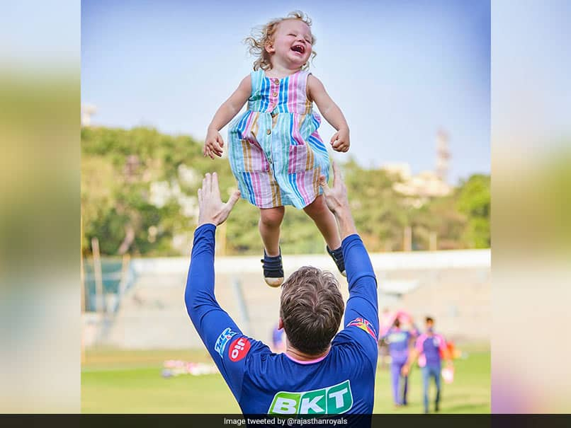 """IPL 2021: """"Cutest Royal"""" Gets A Message From Rajasthan Royals On Her 2nd Birthday"""