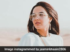 Jasmin Bhasin's Cool Outfit Is A Golden Hour Essential Even In A Desert