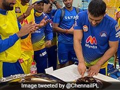 IPL 2021: How Chennai Super Kings Celebrated MS Dhoni's 200th Match For CSK. Watch
