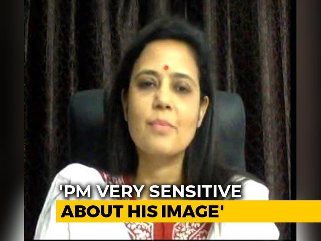 "Video : ""Street-Side Fellow"": Trinamool's Mahua Moitra On PM's ""<i>Didi-O-Didi</i>"" Digs"