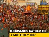 Video : Lakhs In Haridwar For Kumbh Holy Dip Today Amid Covid Crisis