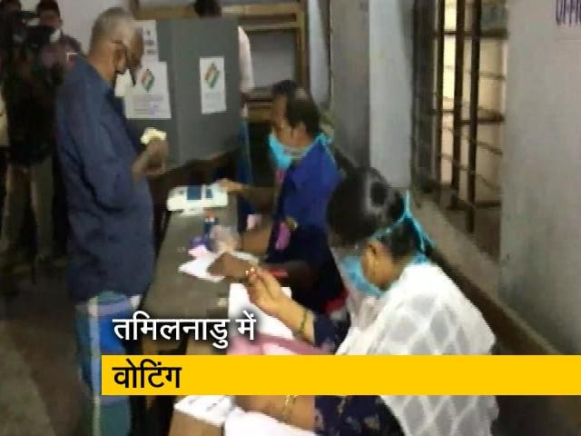 Videos : तमिलनाडु में 234 सीटों पर मतदान जारी