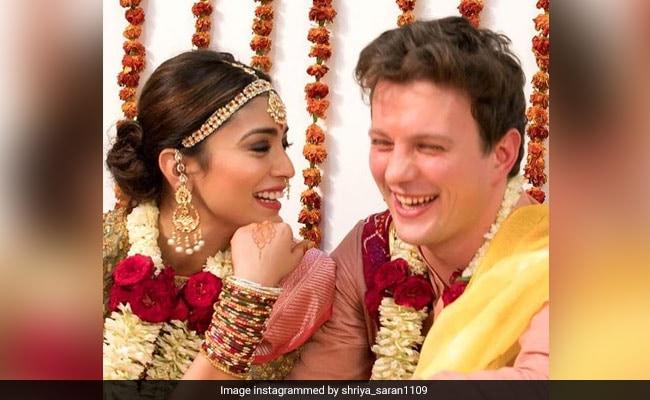 'Wife Is Always Right':  Shriya Saran's ROFL Birthday Post For Husband Andrei Koscheev