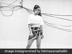 Fatima Sana Shaikh's Crop Top And Mini Skirt Look Is A Summer Fashion Essential