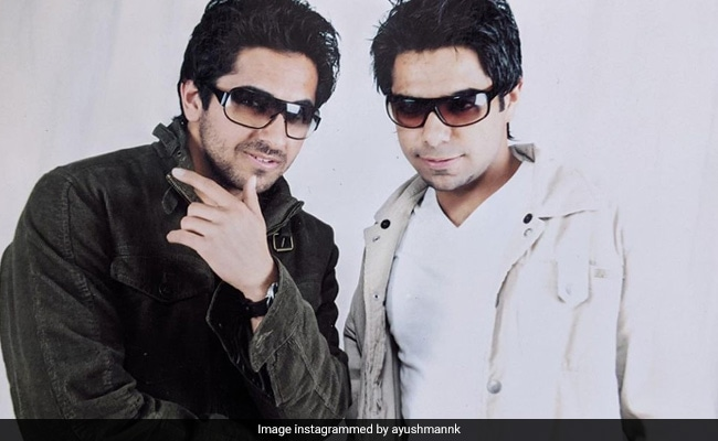 Ayushmann Khurrana And Aparshakti As 'Khaate-Peete Punjabi Ghar Ke Ladke' In A Throwback Pic