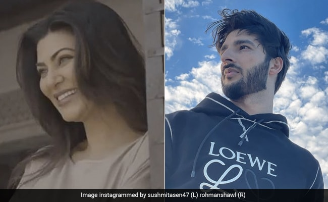 Sushmita Sen Posts Glimpses Of Her 'Real And Reel' Self. What Rohman Shawl Said