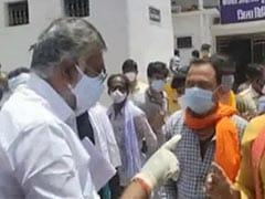 """2 Slaps,"" Says Minister As Man Seeking Oxygen Slams, Abuses Hospital"