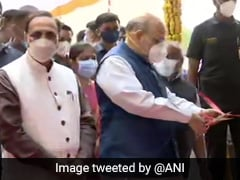 Amit Shah Inaugurates Oxygen Plant In Gujarat's Gandhinagar