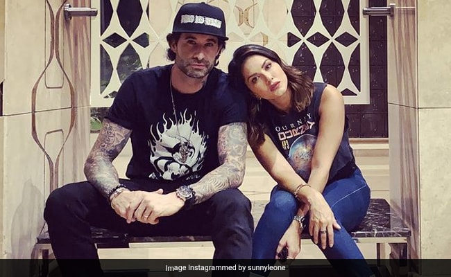 'You Are My Rock And My Hero,' Writes Sunny Leone In Her Anniversary Wish For Daniel Weber