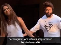 Nia Sharma ने शालीन भनोट संग लिया डांस चैलेंज, फिर हुआ ऐसा- देखें Video