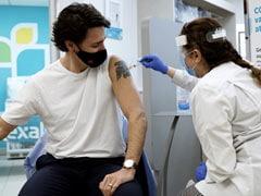Canadian PM Justin Trudeau Gets First Dose Of AstraZeneca Covid Vaccine