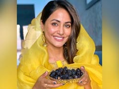 Ramadan 2021: Hina Khan Wishes Her Fans With A Plate Full Of Dates