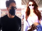 Video : Tiger Shroff, Disha Patani Fly Off To Destination Maldives