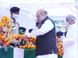 Video : Amit Shah Pays Tribute To Security Personnel Killed In Action In Chhattisgarh
